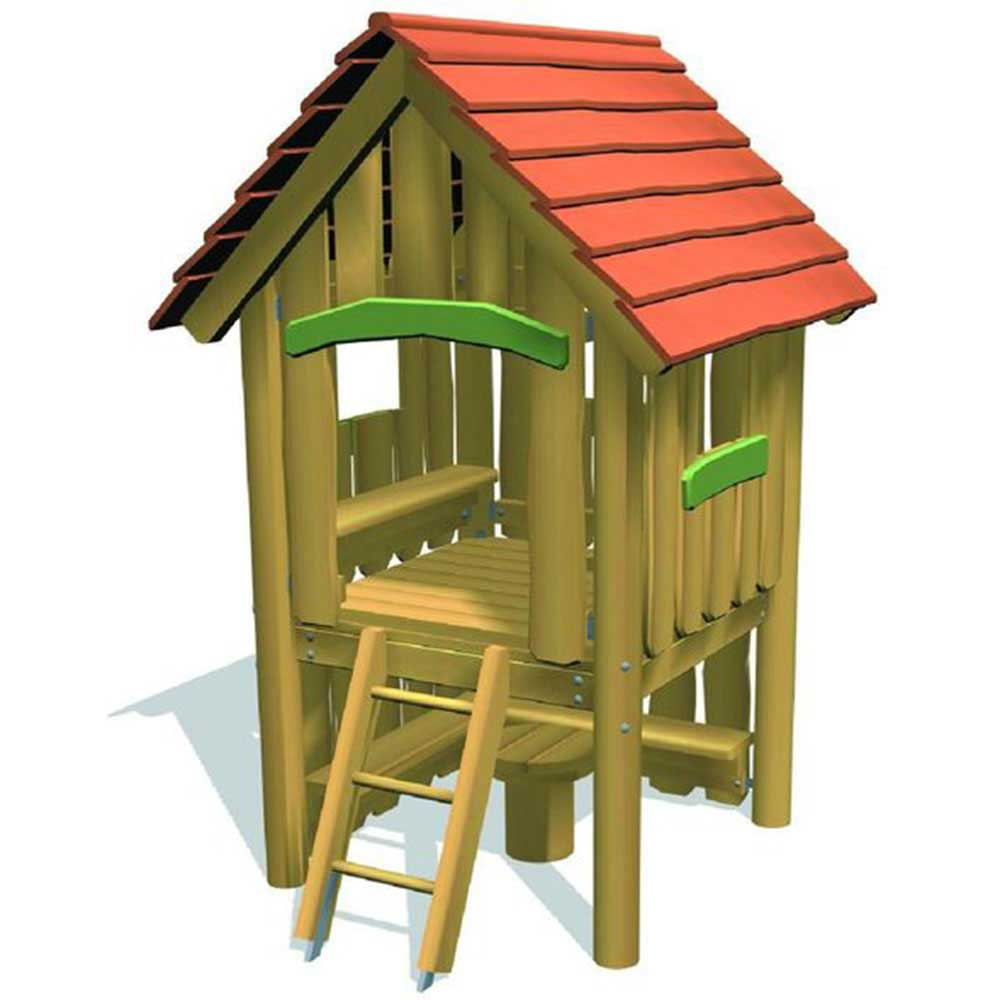Playhouse Frederick with Corner Seats
