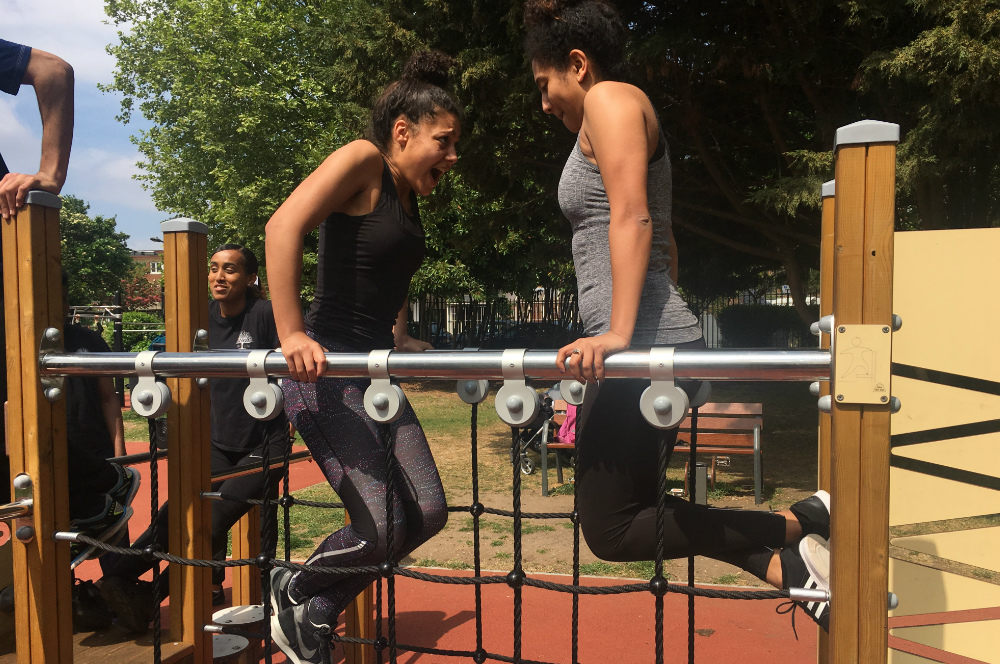 Outdoor Gyms Project, Camden