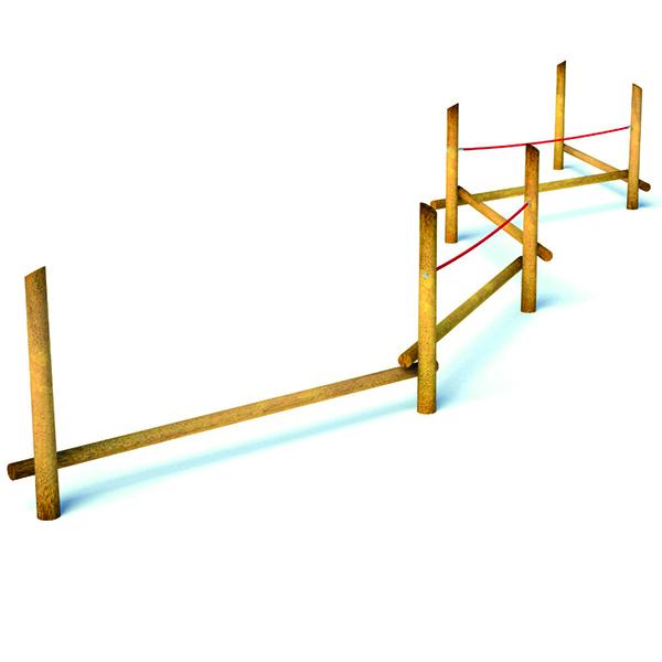 Balancing Beam Course