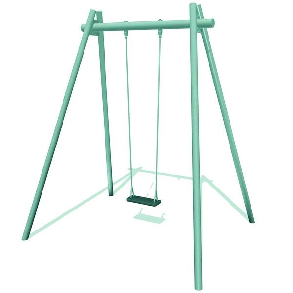 Galvanised Steel Single Swing