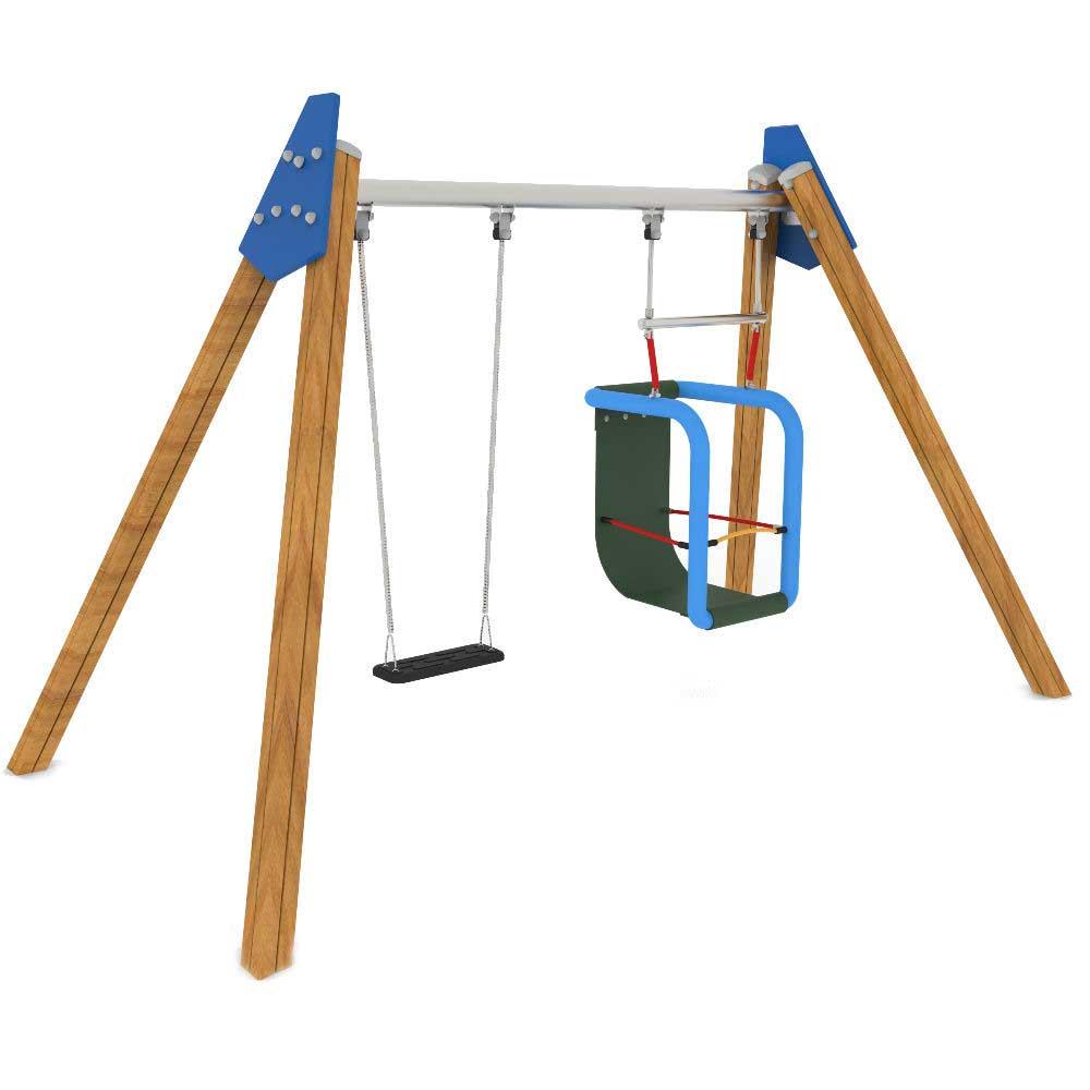 Inclusive 2 Bay Swing