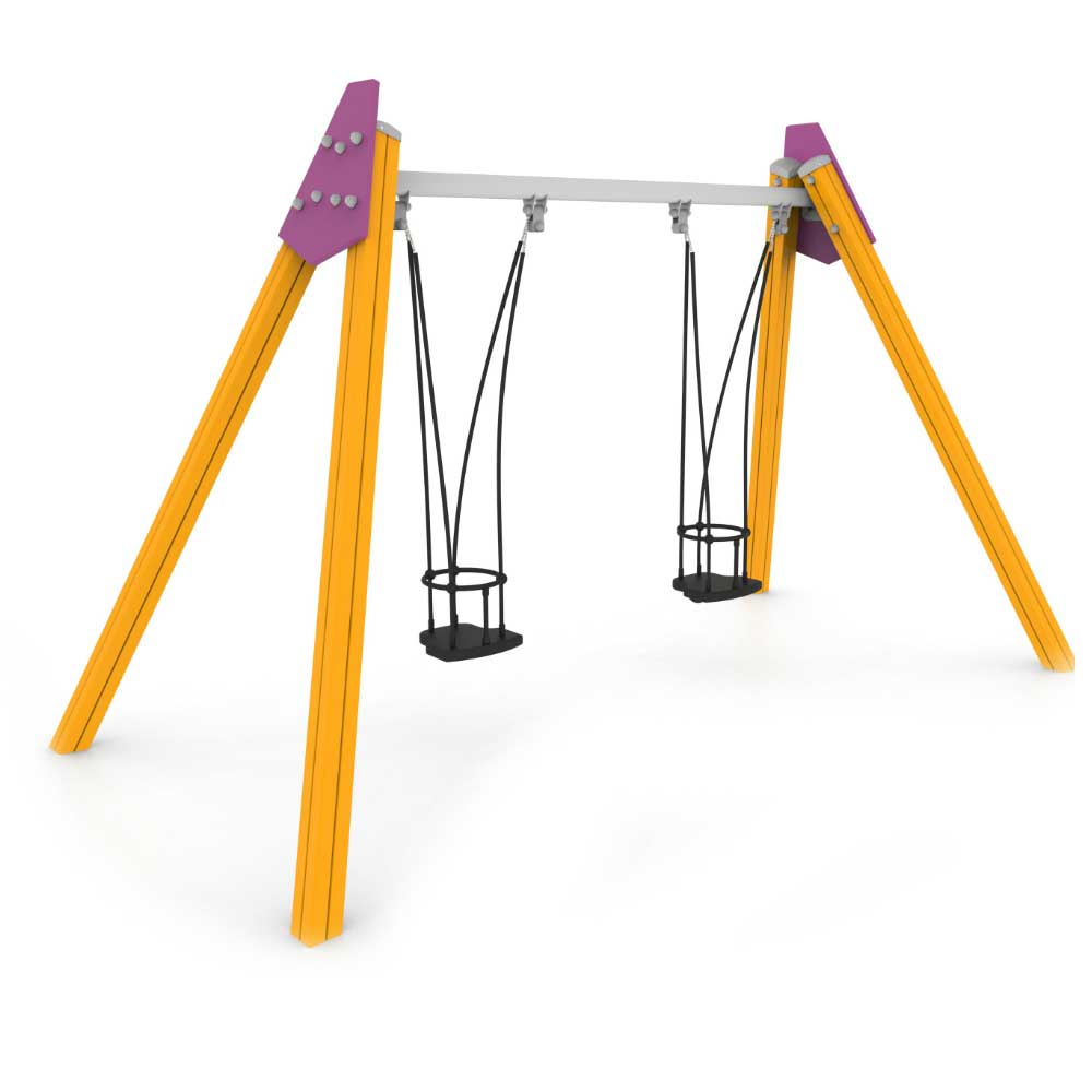 Fusion Children's Double Swing