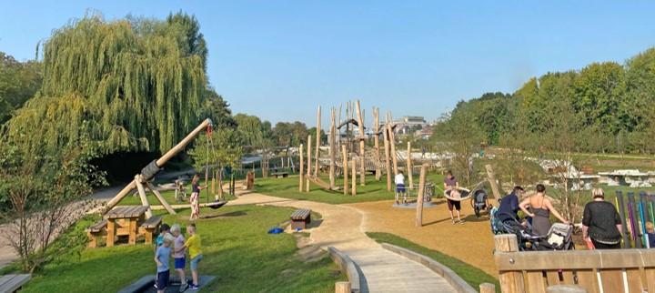 Oxhey Park Award Winning Playground