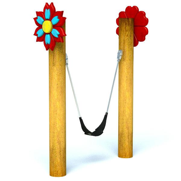 Toddler Flower Swing