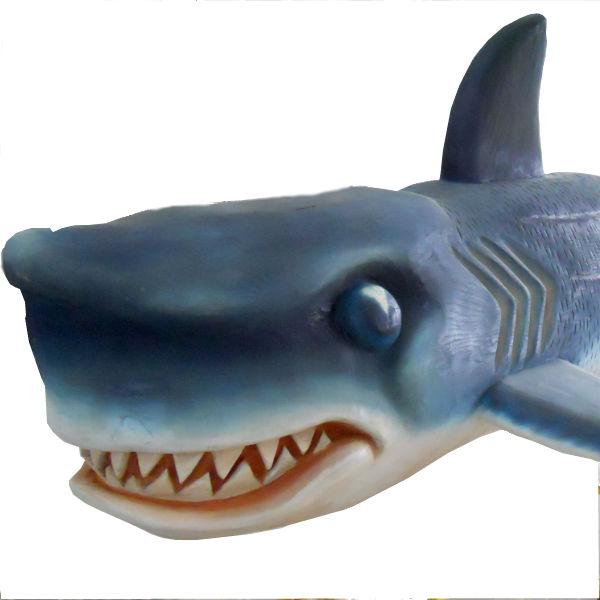 Giant Shark Sculpture
