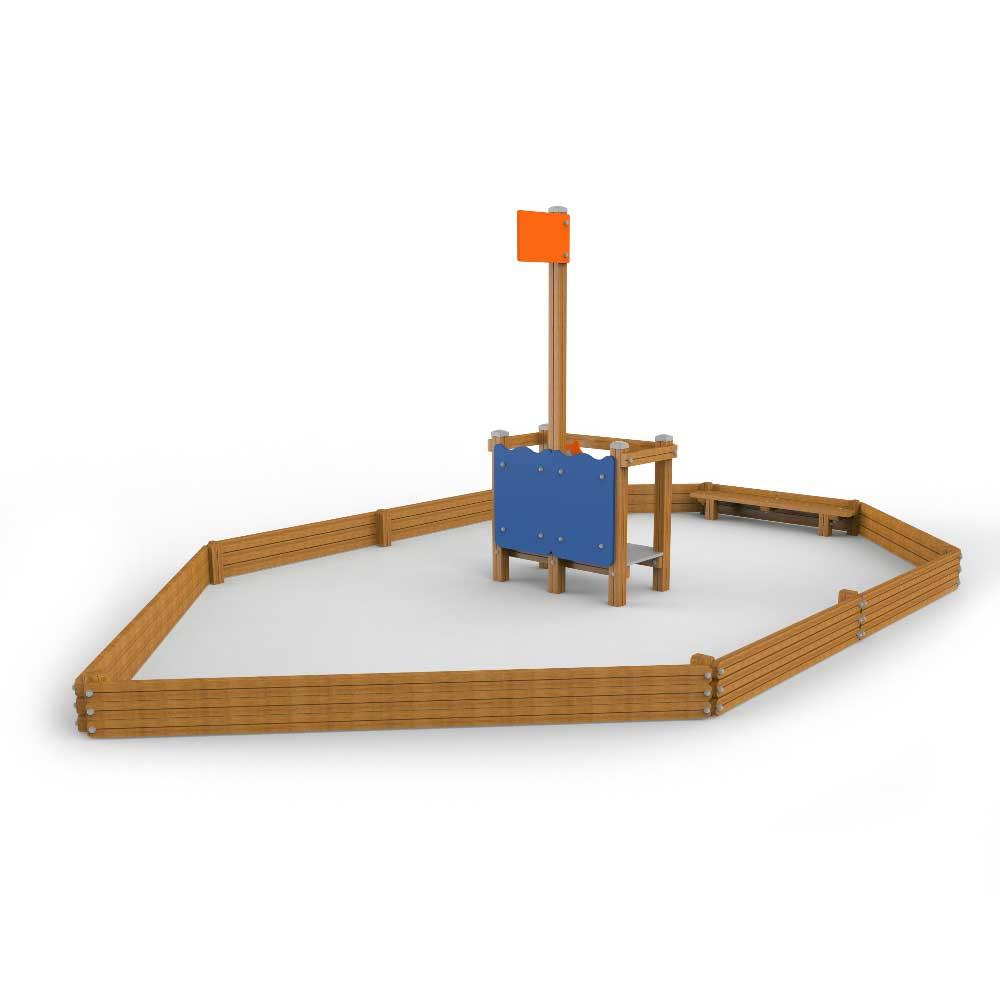 Boat Sand Box
