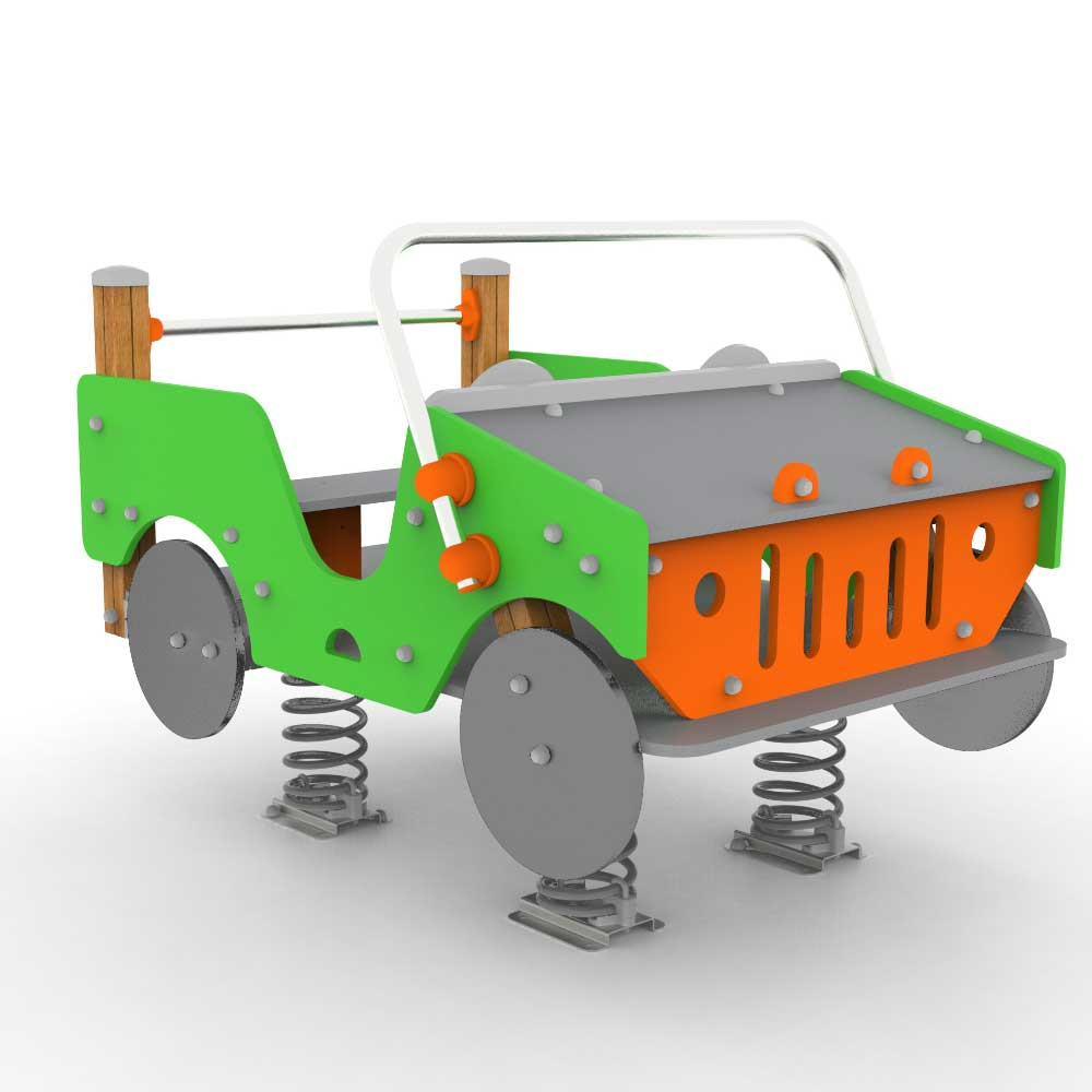 Comic Jeep Springer