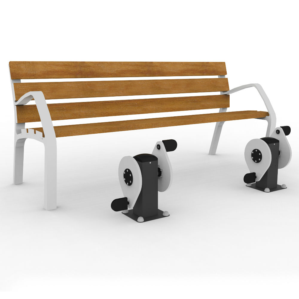 Bench with Pedals